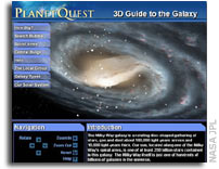 NASA's 3D Guide to the Galaxy lets you interactively explore the Milky Way galaxy on the Web