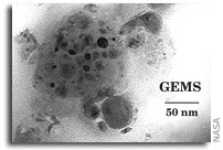 Interplanetary dust particles: reproducing GEMS-like structure in the laboratory