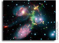 A Shocking Surprise in Stephan's Quintet