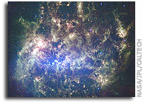 NASA Spitzer Maps Evolution in the Large Magellanic Cloud