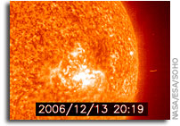 Joint USAF/NOAA Report of Solar and Geophysical Activity 13 Dec 2006