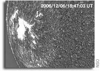 Telescope spots solar tsunami