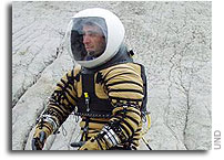 University of North Dakota Tests NASA Funded Experimental Planetary Space Suit
