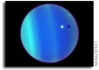 Hubble Captures A Rare Eclipse on Uranus