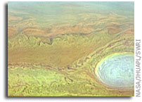 NASA New Horizons Image: Jovian Storm Spectra