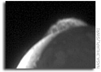 NASA New Horizons Image: Io's Tvashtar Volcano Eruption - in Motion