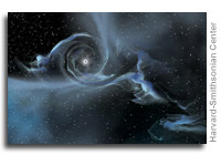 Massive Black Hole Smashes Record