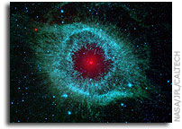 Comets Clash at Heart of Helix Nebula