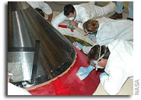 Repairs To STS-117 External Tank Underway