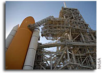 NASA Launch Team Ready to Test Space Shuttle Atlantis System