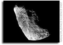 Cassini Image: Unusual Hyperion