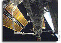 International Space Station Gets New Truss Segment