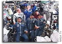 Expedition 16 Arrives at International Space Station