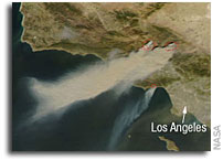 NASA Satellite Images Show Rapid Growth Of California Wildfires