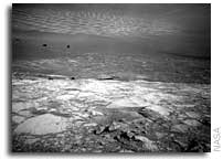 NASA Mars Exploration Rover Opportunity Makes Short Trip Into Victoria Crater
