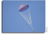NASA Conducts Second Test of Main Parachute for Ares Rockets