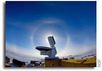 South Pole Telescope to help astrophysicists learn what universe is made of, how it evolves
