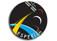 Name and designer logo revealed for Paolo Nespolis Shuttle mission to the ISS