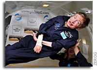 Professor Stephen Hawking Experiences the Freedom of Weightlessness During Historic Zero-Gravity Flight Out of Kennedy Space Center