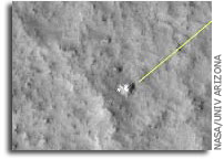 NASA Mars Reconnaissance Orbiter HiRISE Images Mars Pathfinder Site