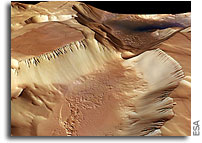 ESA Mars Express Image: Noctis Labyrinthus, labyrinth of the night