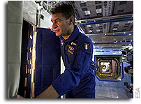Nespoli focuses on complex mission