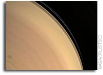 Cassini Image: Looking Up