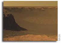 NASA Mars Exploration Rover Opportunity Panorama from 'Cape Verde'