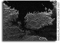 NASA Cassini Image: Titan: Larger and Larger Lakes