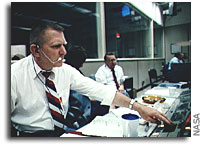 NASA Honors Legendary Flight Director Gene Kranz