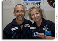 Student of Challenger Center Founder To Fly Into Space