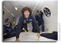 High School Musical Star Corbin Bleu and LA Teachers Take Part in Northrop Grumman Foundation Weightless Flights of Discovery