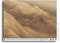 NASA Mars Reconnaissance Orbiter Movie: Flying Over Spirit's Work Site
