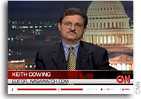 SpaceRef Editor Keith Cowing on CNN to Discuss Chang'e Mission to the Moon