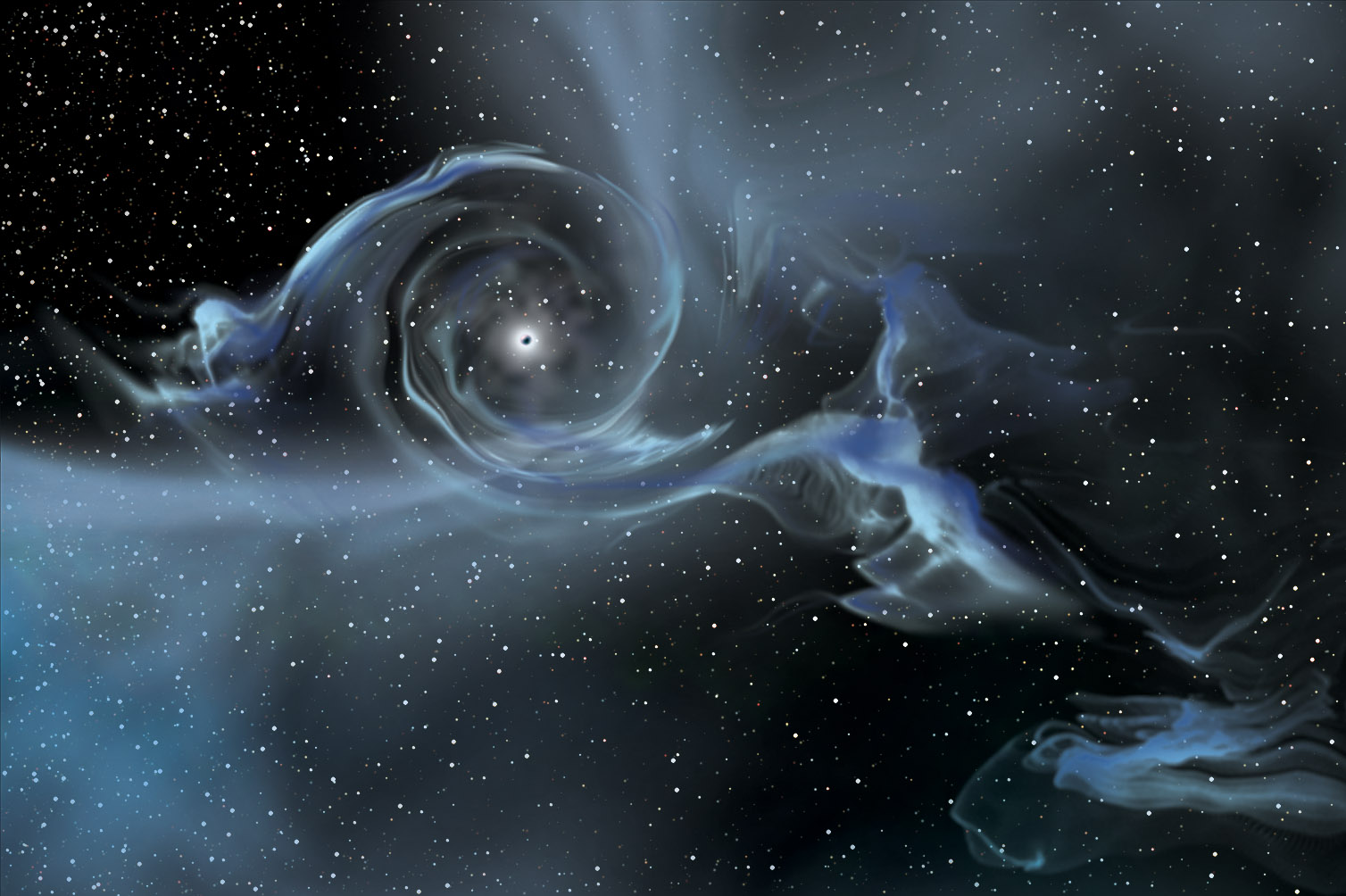 black holes in space - photo #25