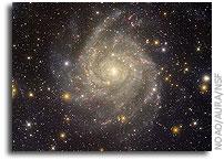 Spiral Galaxy Image Benefits From Vigilance on Dark Skies