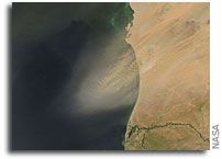 Global sand and dust storm early warning system