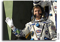First Woman International Space Station Commander Arrives for Historic Spaceflight