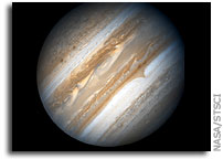 NASA's Hubble Space Telescope Monitors Jupiter in Support of the New Horizons Flyby