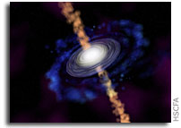 Jets Are A Real Drag: Matter Jetting From Young Star Spirals Out in 