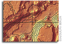 The First Hiking Maps of Mars