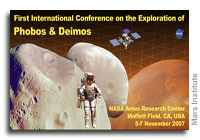 Mars' Moons Phobos and Deimos in Conference Spotlight