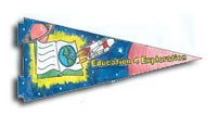 NASA, AOL and Mad Science Choose Pennant Design Challenge Winner
