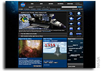NASA Launches New and Expanded Agency Web Site