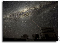 The Planet, the Galaxy and the Laser - Inspiring Images from Paranal