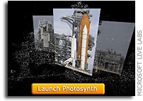 Groundbreaking Digital Experience for Endeavour Shuttle Launch