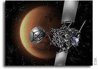 Rosetta correctly lined up for critical Mars swingby