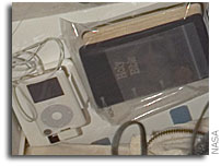 iPod Sighting Aboard Space Shuttle Atlantis