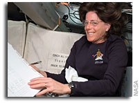 Space-to-ground Conversation with NASA Space Shuttle Endeavour and Educator Astronaut Barbara Morgan
