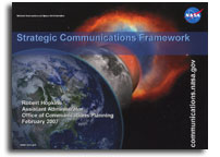 NASA Office of Communications Planning: NASA Message Construct